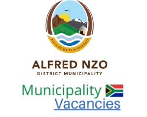 Alfred Nzo District municipality vacancies 2021 | Alfred Nzo District vacancies | Eastern Cape Municipality