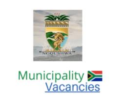 Ngqushwa Local municipality vacancies 2021   Ngqushwa Local vacancies   Eastern Cape Municipality