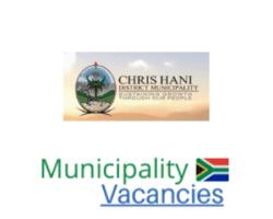 Chris Hani District municipality vacancies 2021   Chris Hani District vacancies