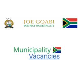 Joe Gqabi District municipality vacancies 2021 | Joe Gqabi District vacancies | Eastern Cape Municipality