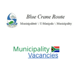 Blue Crane Route Local municipality vacancies 2021 | Blue Crane Route Local vacancies | Eastern Cape Municipality