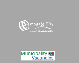 Mogale City Local municipality vacancies 2021 | Mogale City Local vacancies | Gauteng Municipality