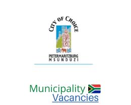 Msunduzi Local municipality vacancies