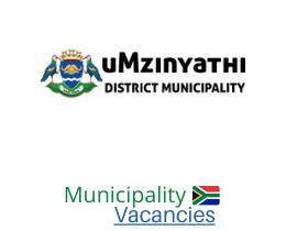 uMzinyathi District municipality vacancies 2021 | uMzinyathi District vacancies | KwaZulu-Natal Municipality
