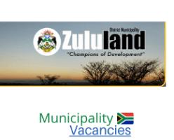 Zululand District municipality vacancies 2021 | Zululand District vacancies | KwaZulu-Natal Municipality