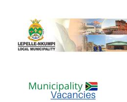 Lepelle-Nkumpi Local municipality vacancies 2021 | Lepelle-Nkumpi Local vacancies | Limpopo Municipality