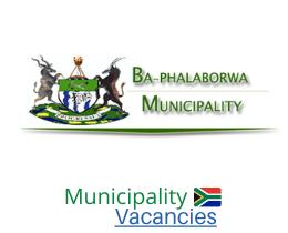 Ba-Phalaborwa Local municipality vacancies 2021   Ba-Phalaborwa Local vacancies   Limpopo Municipality
