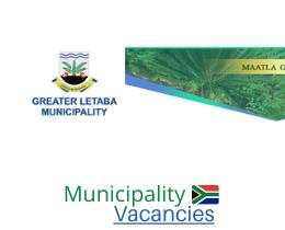 Greater Letaba Local municipality vacancies 2021 | Greater Letaba Local vacancies | Limpopo Municipality
