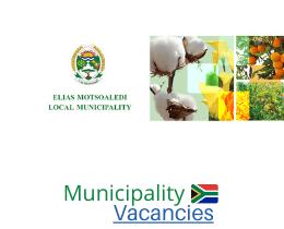 Elias Motsoaledi Local municipality vacancies 2021 | Elias Motsoaledi Local vacancies | Limpopo Municipality