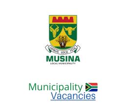 Musina Local municipality vacancies 2021 | Musina Local vacancies | Limpopo Municipality