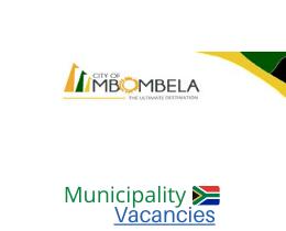 City of Mbombela Local municipality vacancies 2021   City of Mbombela Local vacancies   Mpumalanga Municipality