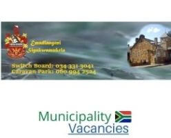 eMadlangeni Local municipality vacancies 2021 | eMadlangeni Local vacancies | KwaZulu-Natal Municipality