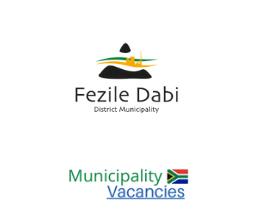 Fezile Dabi District municipality vacancies 2021 | Fezile Dabi District vacancies | Free State Municipality