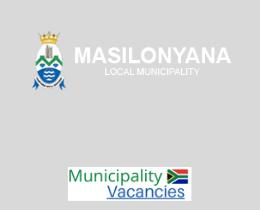 Masilonyana Local municipality vacancies 2021 | Masilonyana Local vacancies | Free State Municipality