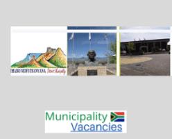 Thabo Mofutsanyana District municipality vacancies 2021   Thabo Mofutsanyana District vacancies   Free State Municipality