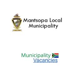 Mantsopa Local municipality vacancies 2021   Mantsopa Local vacancies   Free State Municipality