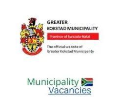 Greater Kokstad Local municipality vacancies