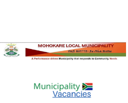 Mohokare Local municipality vacancies 2021 | Mohokare Local vacancies | Free State Municipality